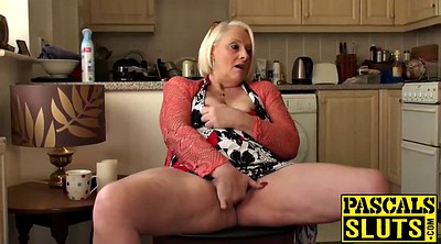 Granny masturbation, British mature