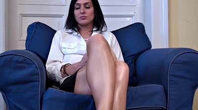 Pantyhose, Skirt, White pantyhose