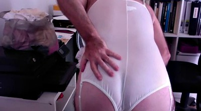 Crossdress, White panty