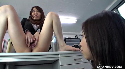 Japanese office, Japanese pussy, Clit orgasm, Japanese orgasm, Asian office, Table