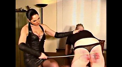Mistress t, Caning, Caned, Femdom caning, German mistress, German latex