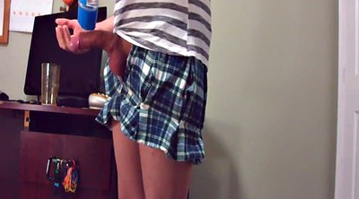Hard, Dressed, Spanked gay, Solo dress, Gay spanking, Cross dress