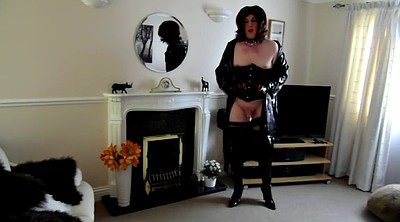 Pegging, Thigh boots, Pvc