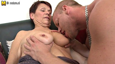 Grandma, Grandmas, Mature and boy, Mature fuck, Boy cock