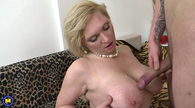 Mother son, Young son, Nature, Busty milf, Big nature tits, Seduce son