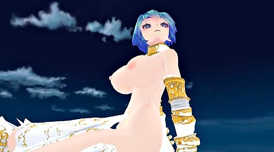 Mmd, Pov, Gaping pussy, Gaping, Blue, Hair pussy
