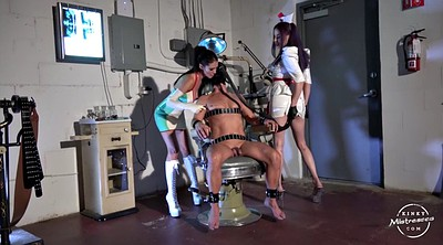 Slave, Nurses, Mistress handjob, Fist bdsm