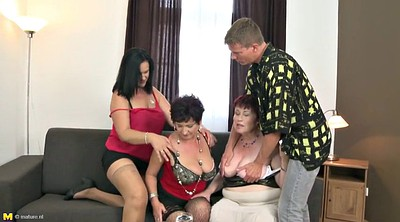 Mom and son, Old and young, Son and mom, Mature son, Granny and son, Busty mom