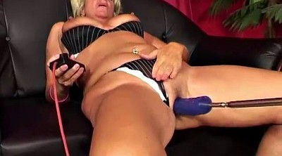 Anal mature, Sex machine