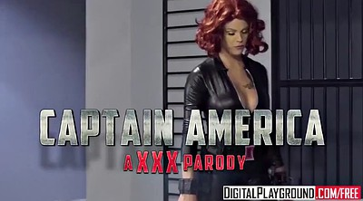 Parody, America, Xxx video, Cumshot handjob, Captain america, Captain