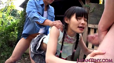 Japanese tits, Japanese fingering, Outdoor japanese