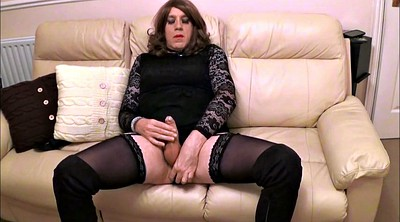 Alison, Plug, Crossdresser sex