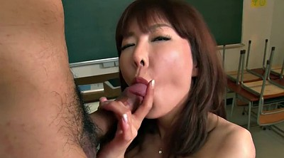 Lingerie, Japanese teacher, Japanese creampie