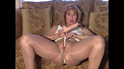 Nylon, British, Mature pantyhose