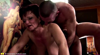 Hairy milf mom, Mature ass, Milf boy, Hairy mom, Ass mouth, Old creampie