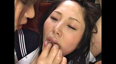 Japanese lesbian, Japanese bus, Japanese strapon, Bully