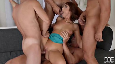 Wife gangbang, Wife double