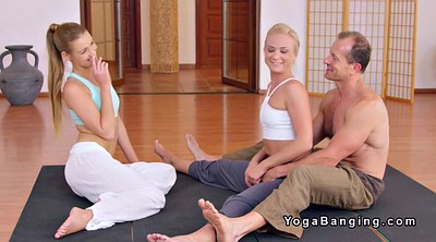 Gym, Yoga threesome