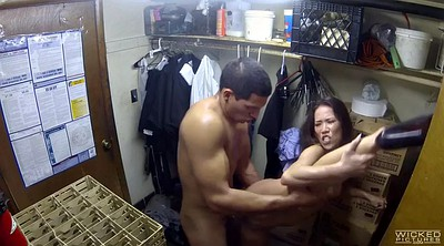 Asian blowjob, Flexible, Backroom facial, Asian facial