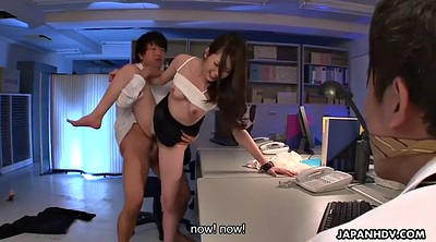 Japanese office, Office, Japanese wife, Yui, Cuckold creampie, Wife japanese