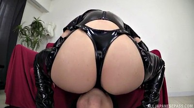 Latex, Rimjob, Japanese handjob, Japanese ass