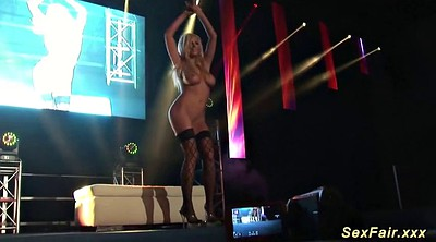 Blonde, Naked on stage