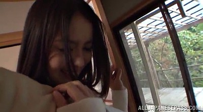 Japanese handjob, Long hair japanese
