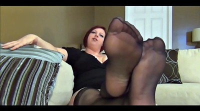 Foot, Stockings, Baby, Bbw foot