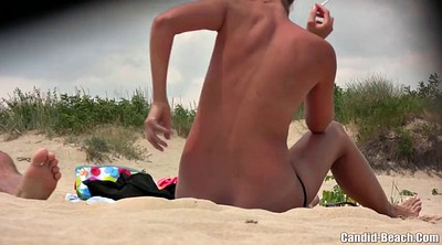 Beach, Nudist, Video, Beach voyeur, Nudist beach