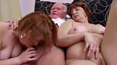 Mature group, Crazy, Bbw old