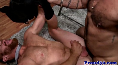 Ejaculation, Red, Mature gay, Ripe, Bear gay, Job interview