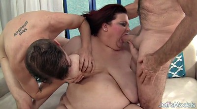 Plumper, Bbw threesome