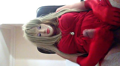 Shemale, Crossdress, Crossdresser, Red