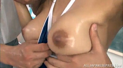 Long nails, Long nail, Teacher threesome, Asian teacher, Asian double penetration