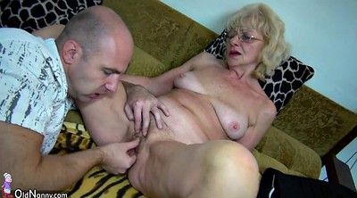 Granny masturbation, Granny threesome