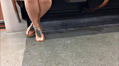 Candid, Sandals, Candid feet, Foot fetish