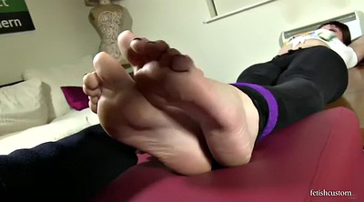 Tied, Foot worship, Tied feet