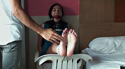 Tickling, Tickle, Softcore, Tickled, Foot gag, Russian feet