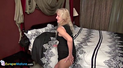 Mature solo, Granny sex, Cindy
