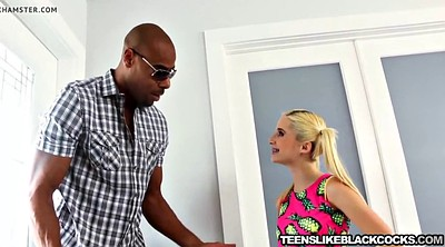 Piper, Blonde teen interracial, Perri