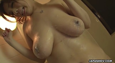 Chubby, Japanese handjob, Fan, Natural big tits