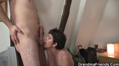 Old granny, Matures, Mature swallow, Granny swallow