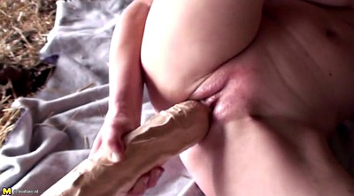 Granny, Monster sex, Mature dildo, Amateur granny, Monster dildo, Granny hard