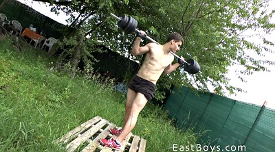 Outdoors, Gay massage, Workout