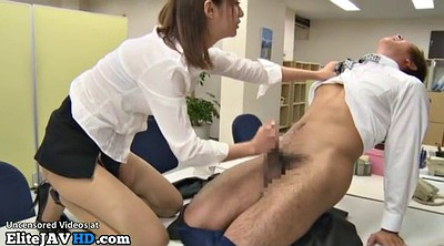 Japanese pantyhose, Japanese office, Office sex