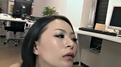Japanese milf, Japanese office