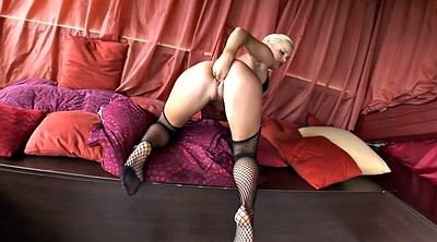 Heels, Fishnet stocking