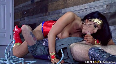 Licking, Face, Romi rain, Hero, Cock hero