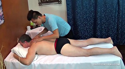 Dad, Old young, Couple massage, Couple