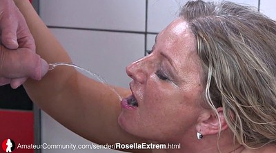 Housewife, German milf, German piss